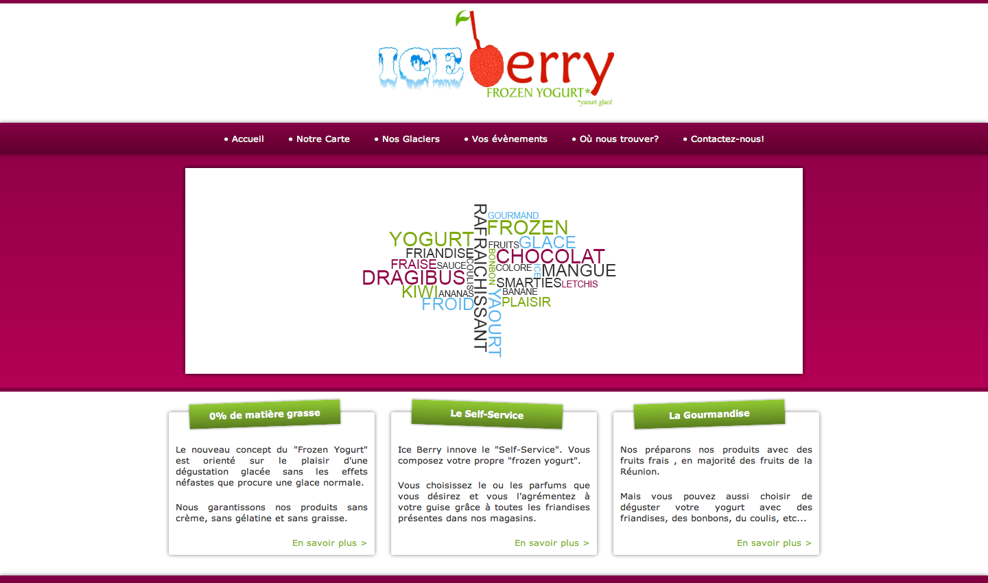 Ice berry : frozen yogurt