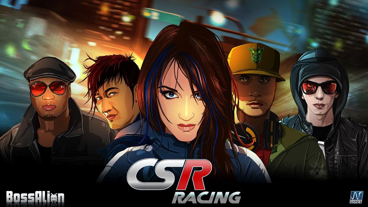 Top 10 applications iOS 2014 :  CRS Racing