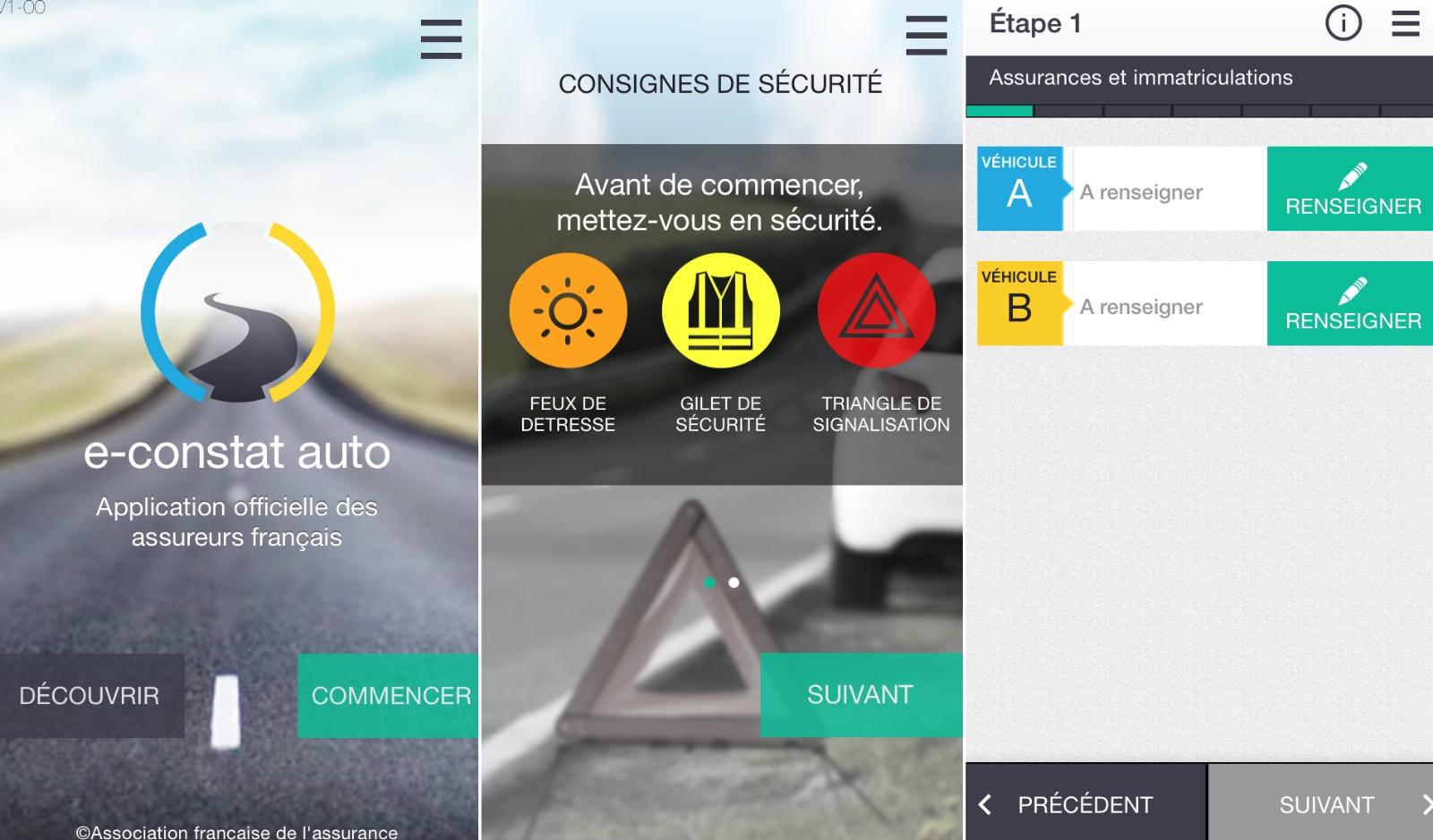 Top 10 applications iOS 2014 :  e-constat