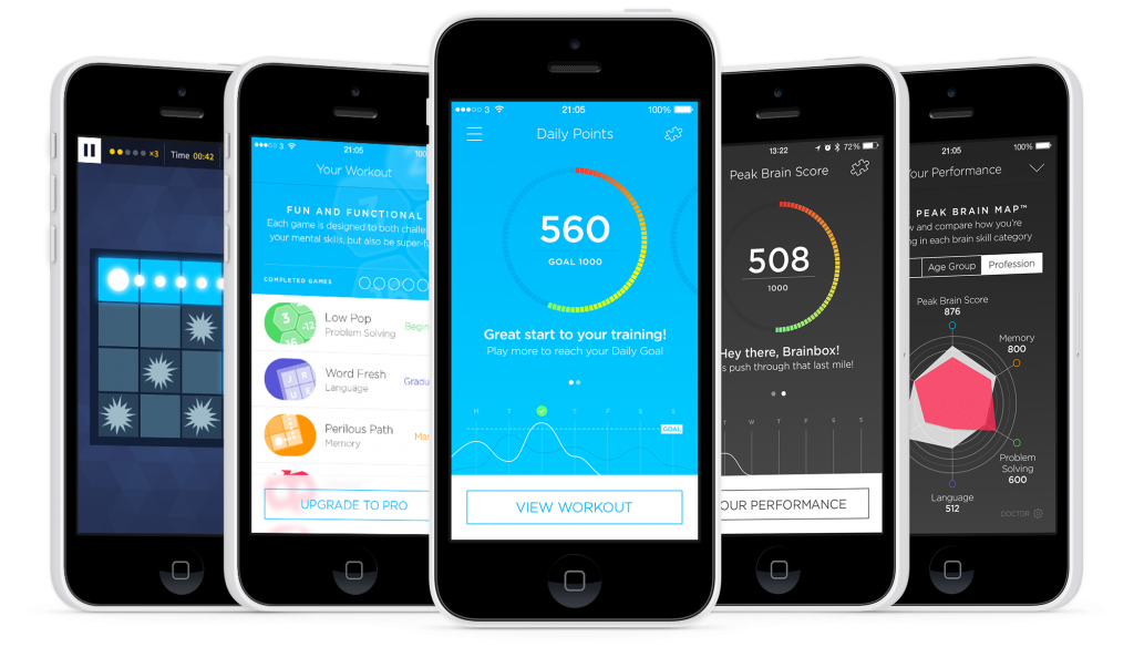 Top 10 applications iOS 2014 :  Peak