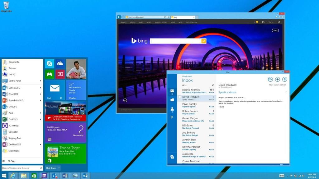 Windows 10 : Modern UI dans une fenêtre